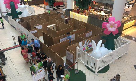 Market City Easter Wonderland Maze