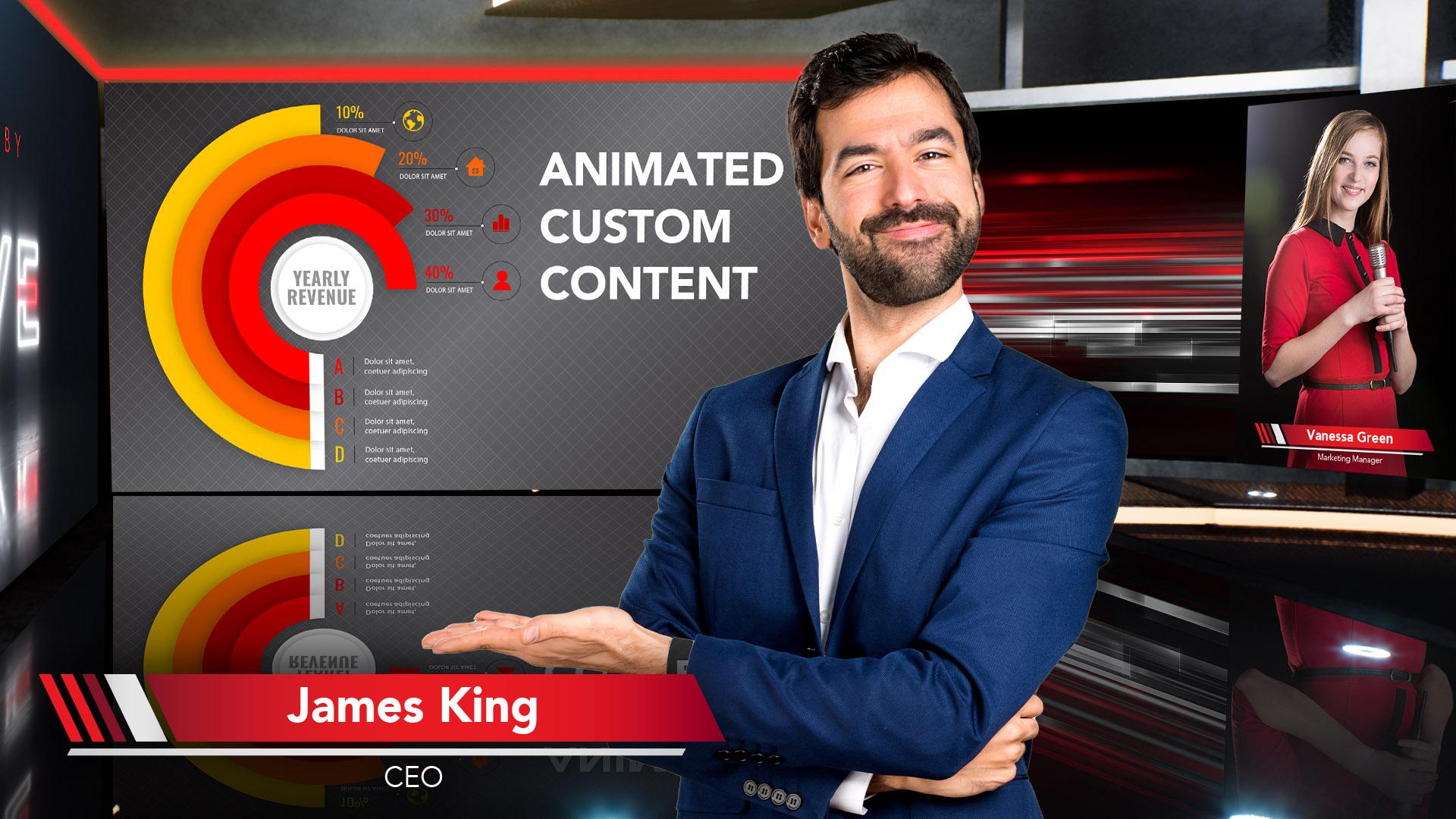 Alive TV - Animated Custom Content